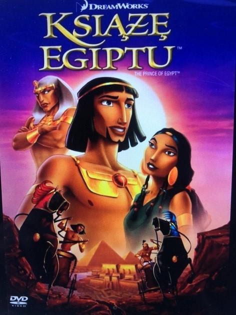 książe egiptu